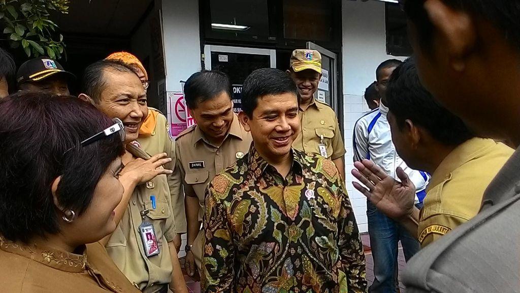 Sidak ke Kecamatan Gambir, Menteri Yuddy Sebut Tidak Ada PNS Cuti