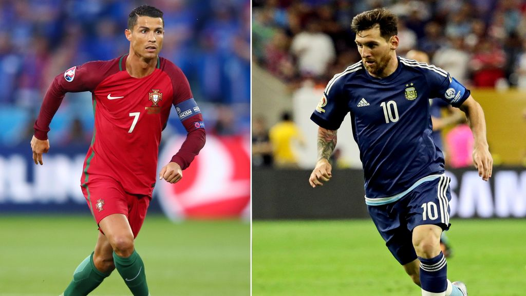 Gomes Bicara soal Messi dan Ronaldo