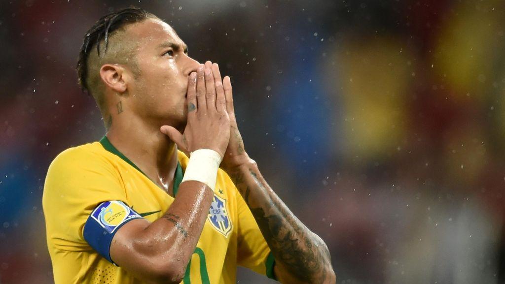 Tekad Neymar Rebut Medali Emas Olimpiade
