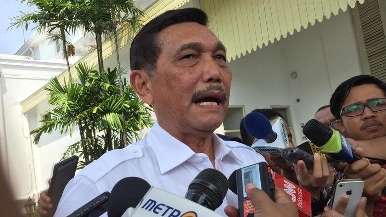 Luhut Laporkan Opsi Pembebasan Sandera ke Pesiden Jokowi