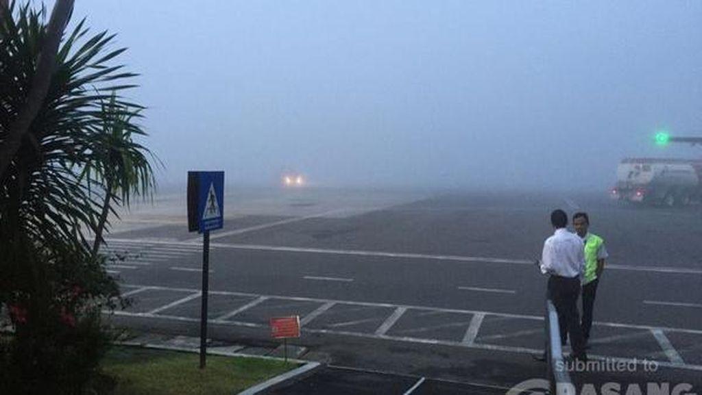 Kabut Tebal Selimuti Bandara Adisucipto, Seluruh Penerbangan Pagi Ini Ditunda