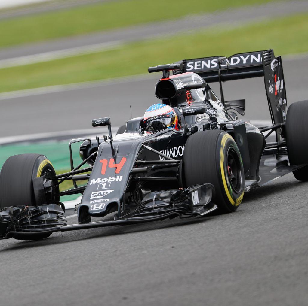Alonso Tercepat di Hari Pertama