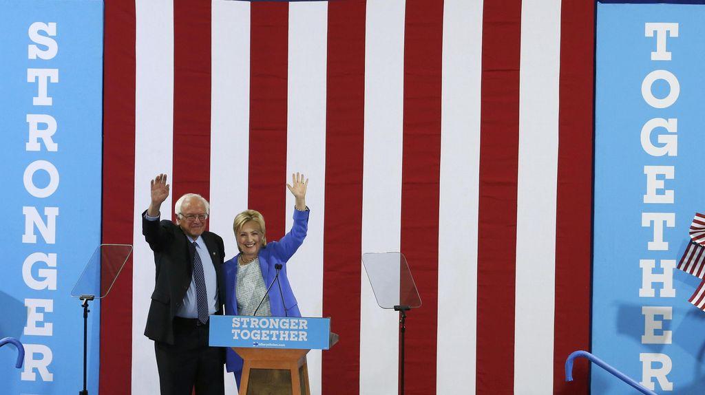 Sanders Nyatakan Dukung Hillary, Donald Trump Segera Umumkan Cawapres