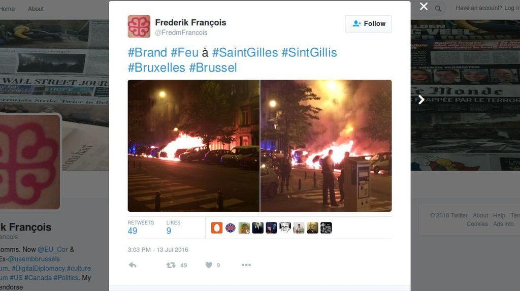 2 Ledakan Guncang Brussels, Polisi Sebut Tak Terkait Terorisme