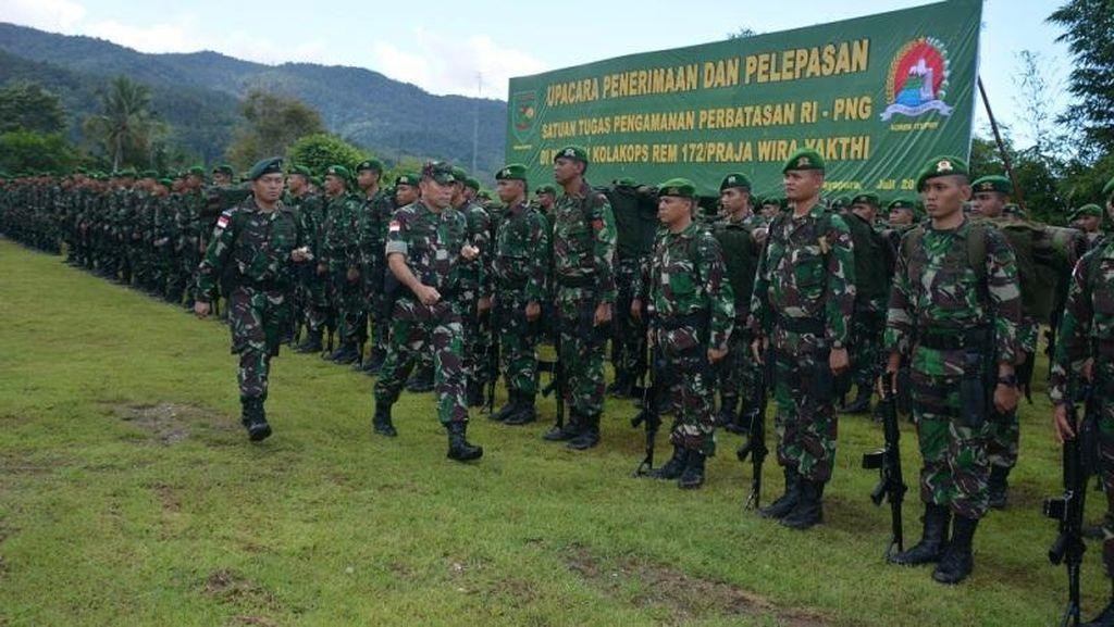 4 WNI Pelintas Batas RI-Papua Nugini Tepergok Bawa 3 Kg Ganja