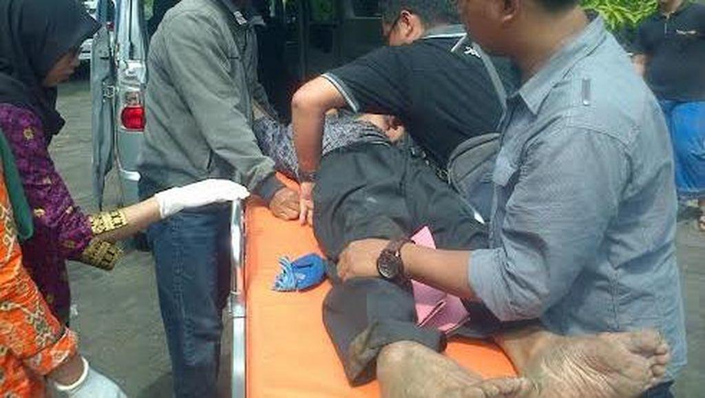 Loncat dari Atap Rumah, Tersangka Korupsi BPR Mojokerto Ditangkap