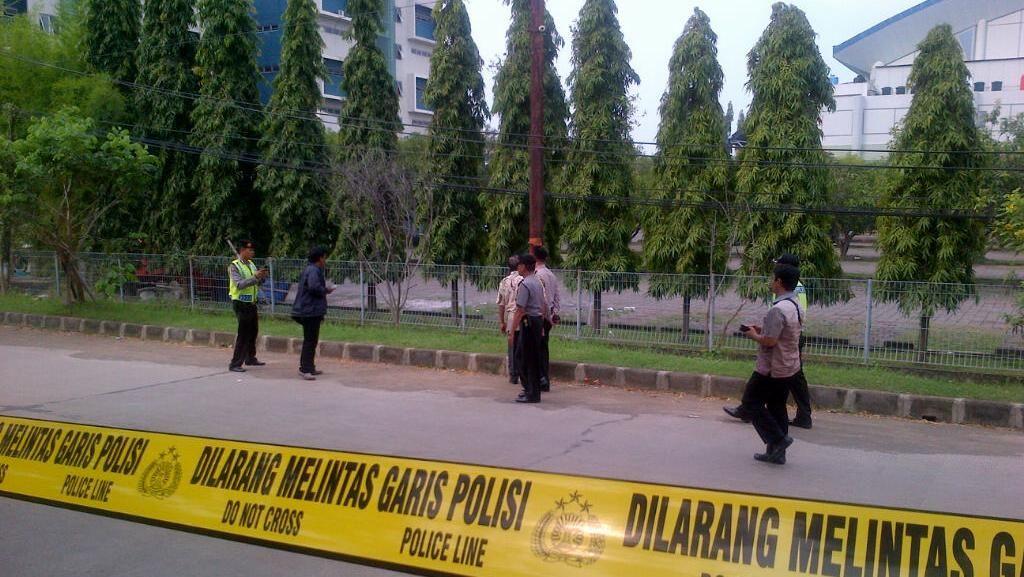 Benda Mencurigakan Ditemukan di Depan Gereja di Semarang