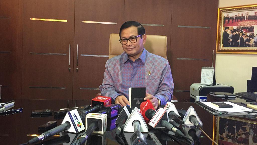 Seskab: Pemerintah Tak Mau Ikut Campur Soal Pemulihan Nama Baik Novanto