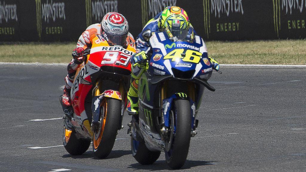 Untuk Kalahkan Marquez, Yamaha Akui Butuh Keberuntungan