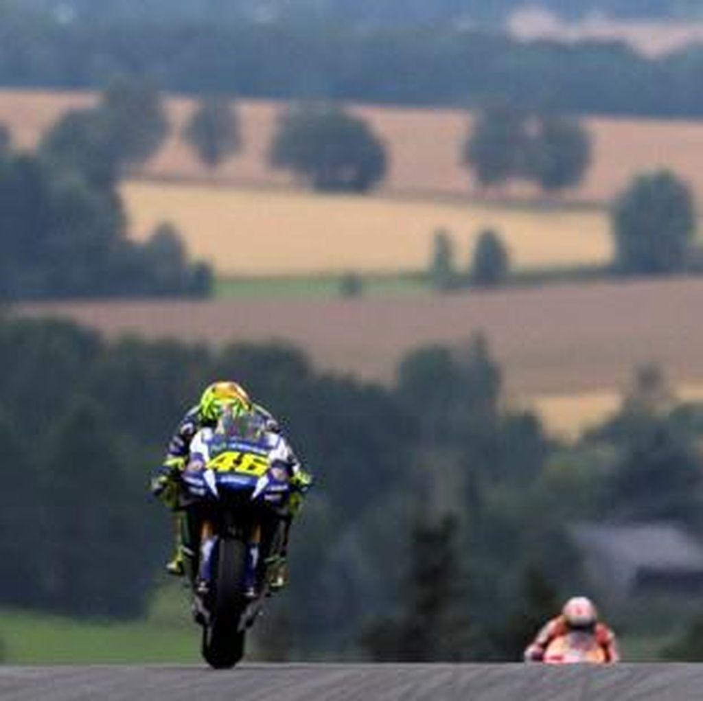 Rossi Mengaku Jadi Lebih Lambat Usai Ganti Motor