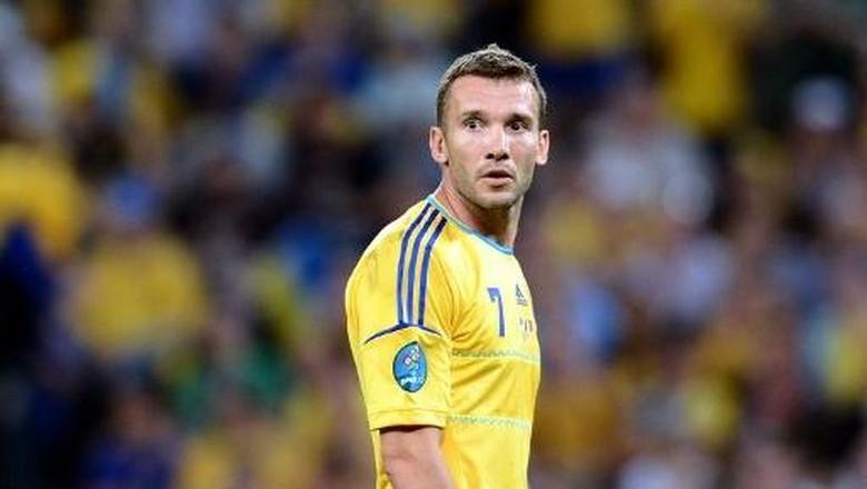 Timnas Ukraina Tunjuk Eks Striker Milan Sebagai Pelatih Baru