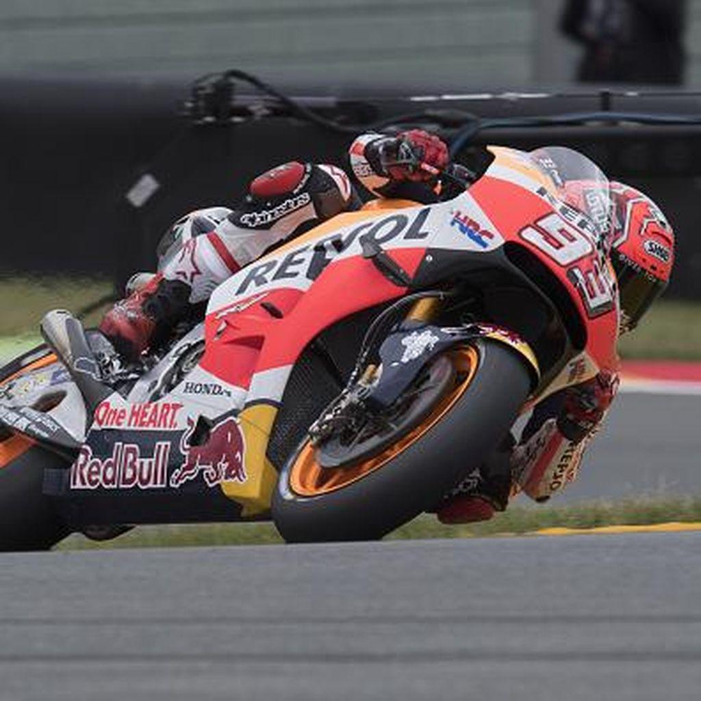 Marquez Antisipasi Ancaman Rossi