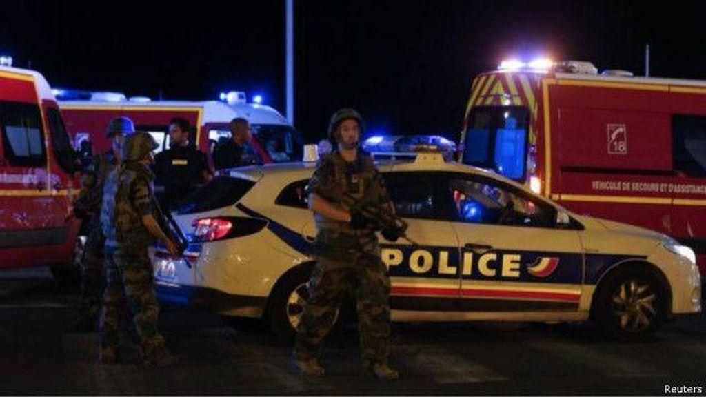 Lima Orang Telah Ditahan Terkait Serangan Truk Maut di Nice