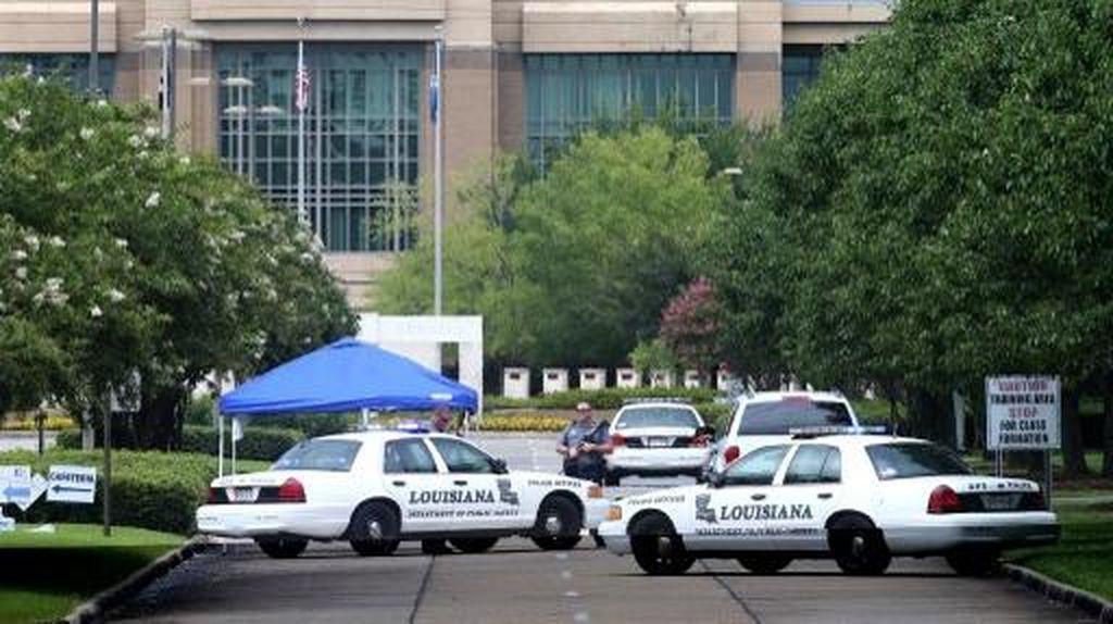 Satu Pelaku Penembakan Polisi di Baton Rouge Tewas, Pelaku Lainnya Diburu