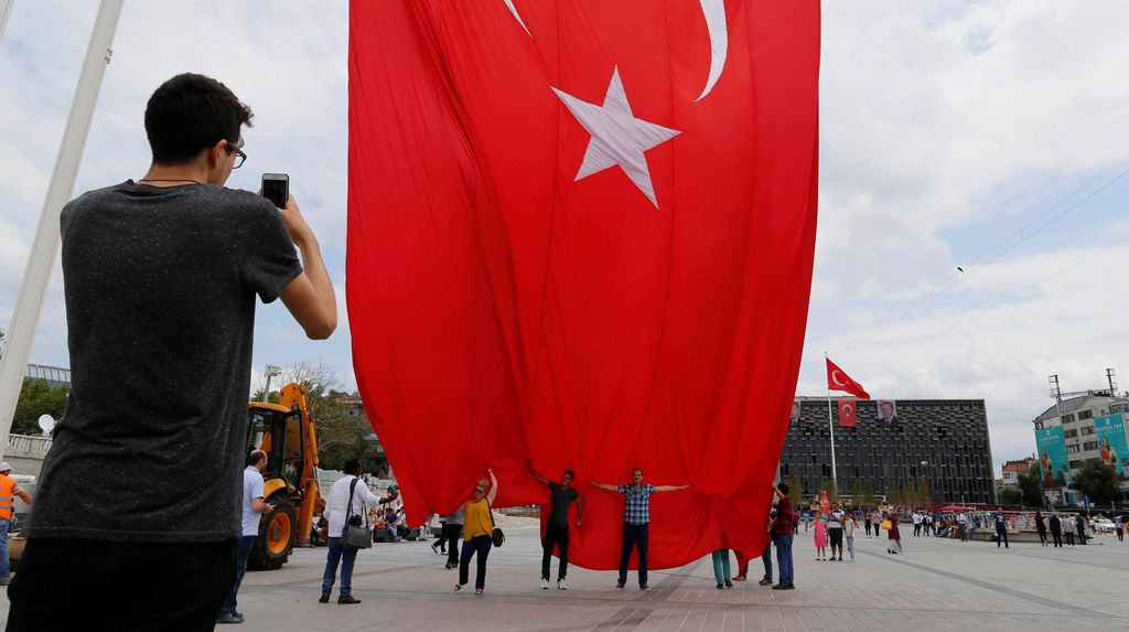 Jenderal AS Bantah Dukung Upaya Kudeta di Turki