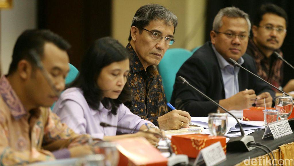 Pimpinan KPU Temui Presiden Jokowi, Ini yang Dilaporkan
