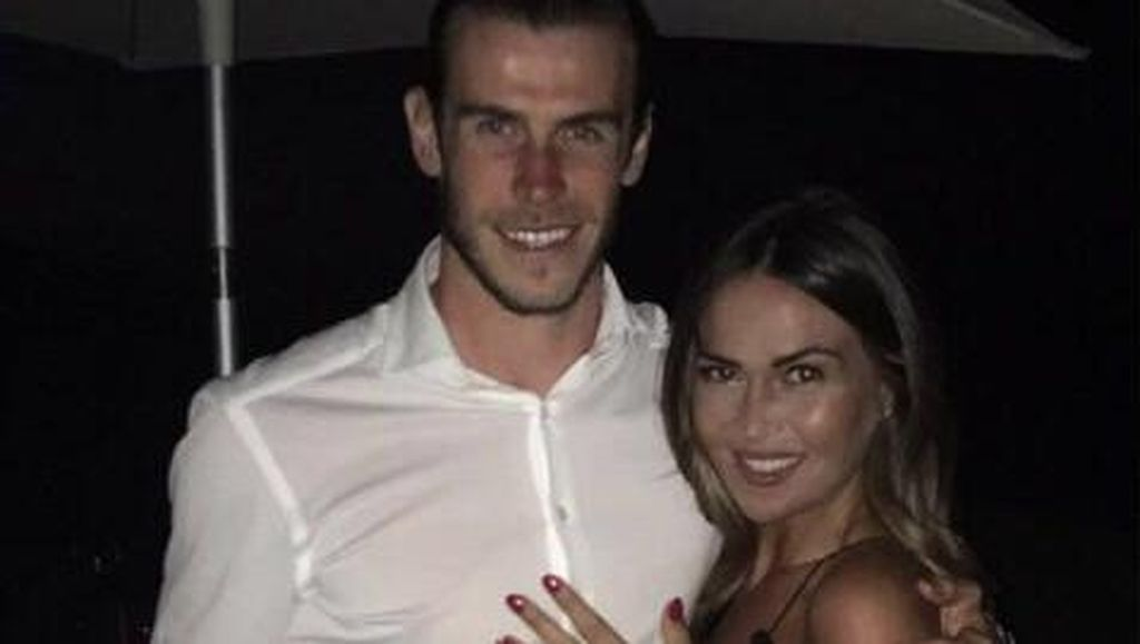 Gareth Bale Umumkan Pertunangannya