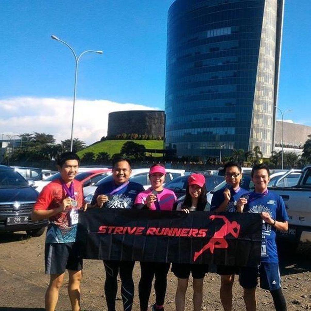 Strive Runners Antusias Rasakan Rute Baru MILO Jakarta International 10K