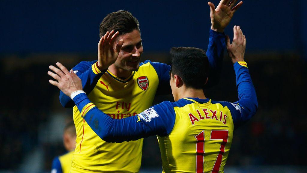 Arsenal Diminta Tiru Prancis untuk Maksimalkan Duet Giroud-Alexis