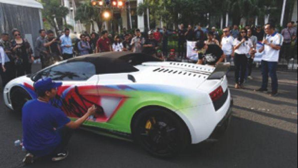 Berkreasi Tanpa Batas di Kompetisi Pertamina Lamborghini Livery Contest