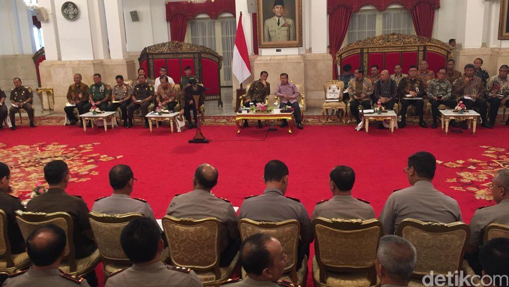 Di Depan Kapolda dan Kajati, Jokowi Ingatkan Hal-hal yang Tak Bisa Dipidana