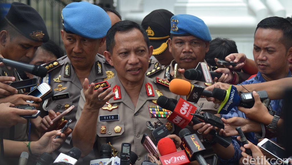 TNI Diusulkan Bisa Tindak Terorisme, Kapolri: Perlu Dipahami Dulu