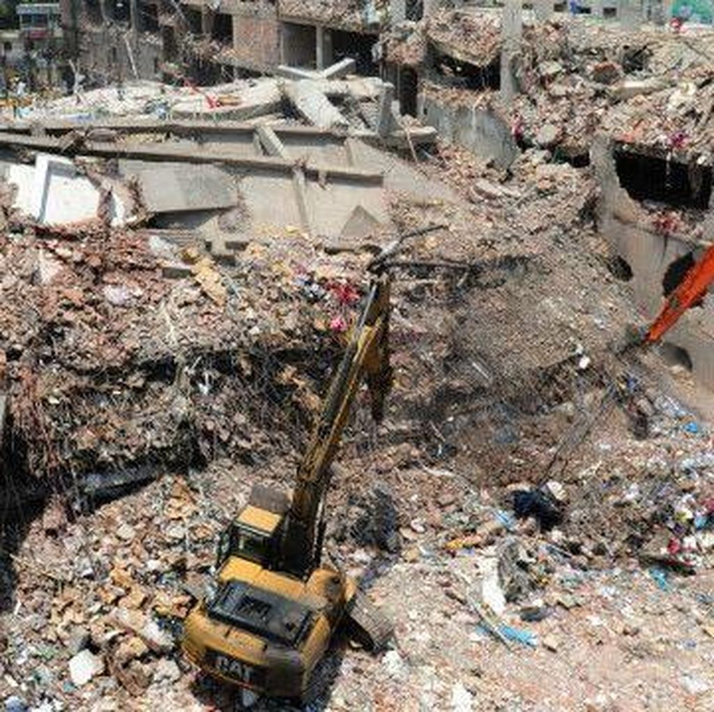 Pabrik Ambruk di Bangladesh, 38 Orang Didakwa Pasal Pembunuhan