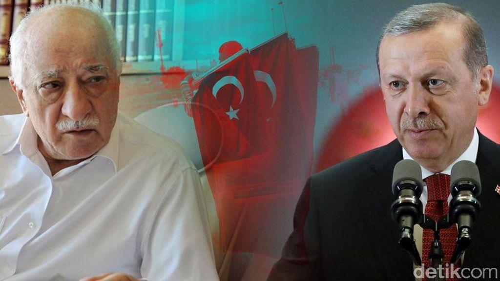 3 Mantan Diplomat Senior Turki Ditahan Terkait Upaya Kudeta