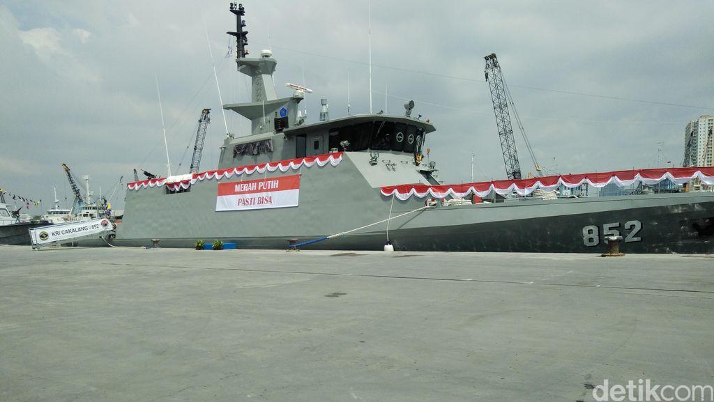Kapal Perang KRI Cakalang 852 Resmi Dimiliki TNI AL
