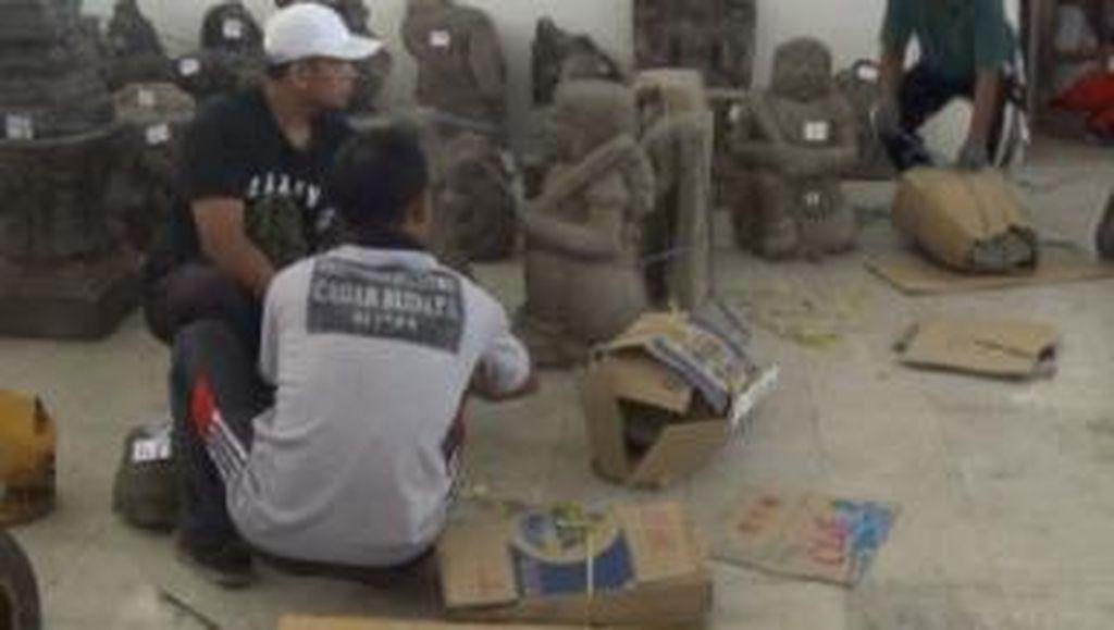 Ratusan Cagar Budaya di Blitar Dipindahkan
