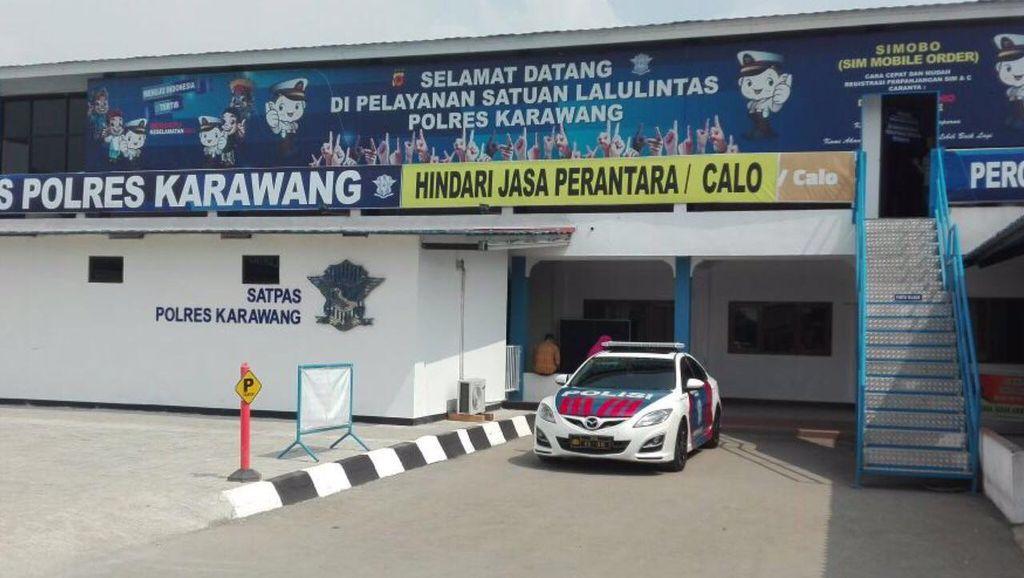 Bikin SIM di Polres Karawang Kini Hanya 120 Menit dan Bebas Calo