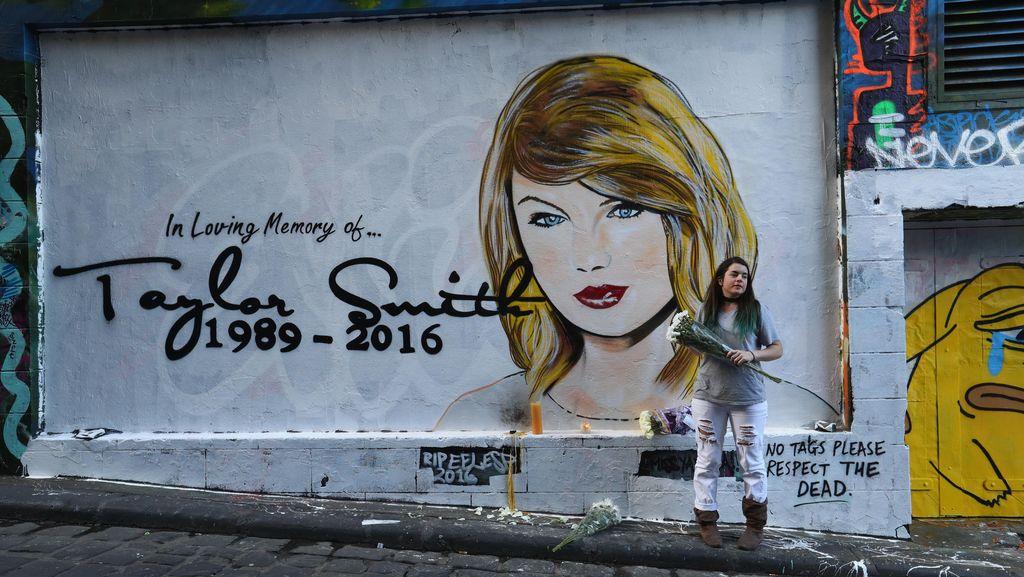 Mural RIP Taylor Swift Diminta Dihapus