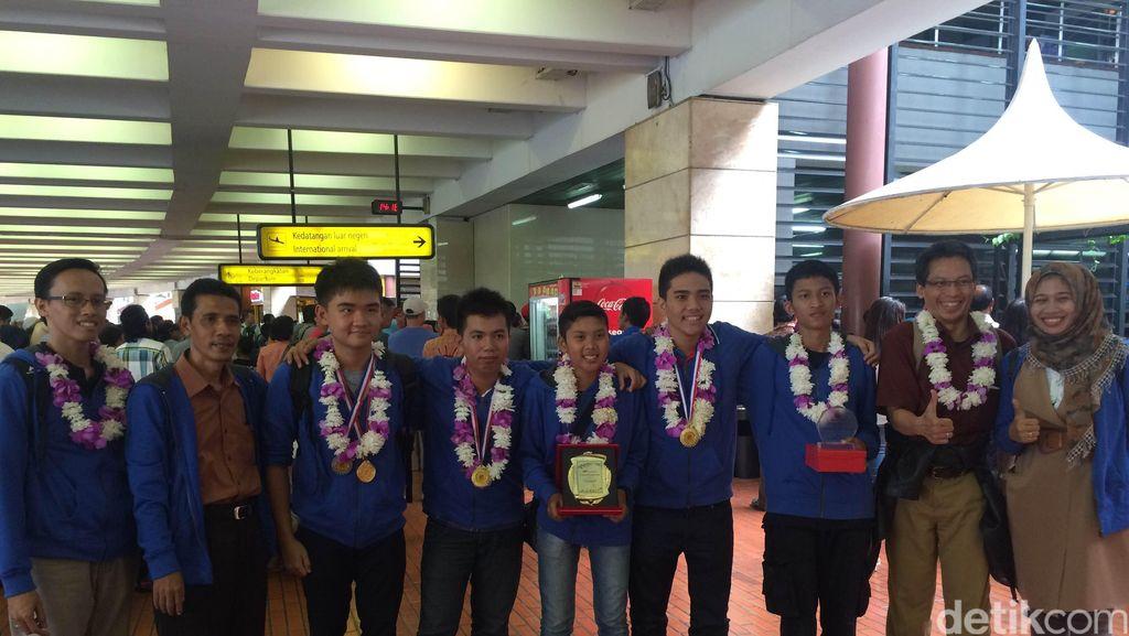 5 Pelajar Indonesia Raih Penghargaan di Lomba Penemu Muda Internasional