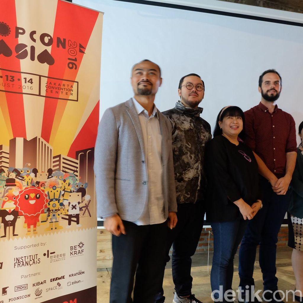 Street Artist Korea dan Indonesia Unjuk Gigi di Popcon Asia 2016