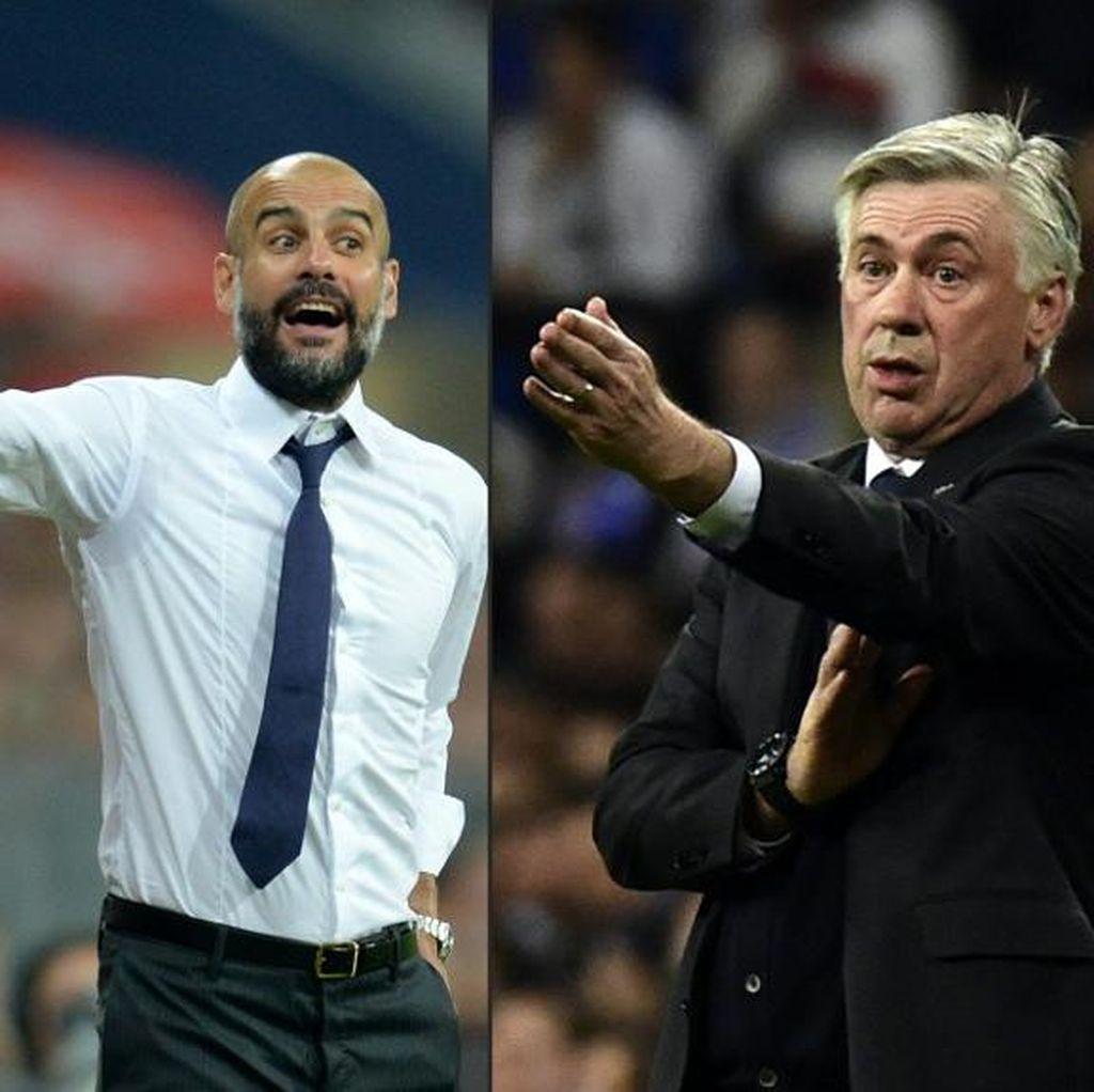 Ancelotti Ingin Jumpa Guardiola di Final Liga Champions