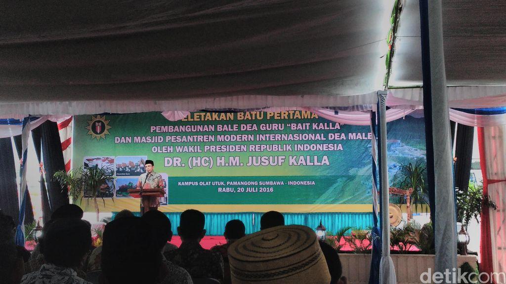Din Syamsuddin Ingin Pesantren Dea Malela di NTB Jadi Pusat Pendidikan Islam