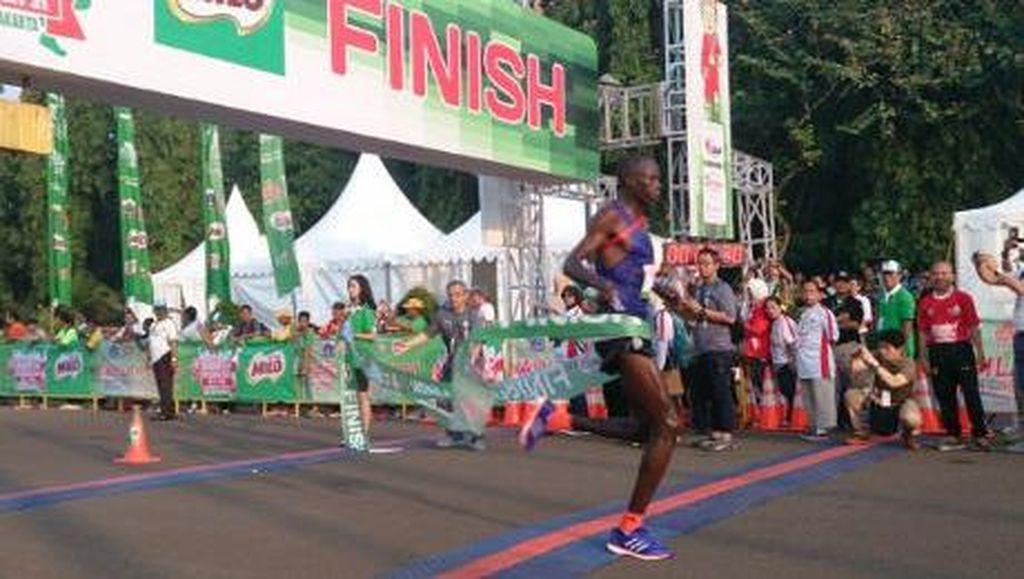 Saat Lomba MILO Jakarta International 10K, Arus di Jalur Cepat Kuningan Dialihkan