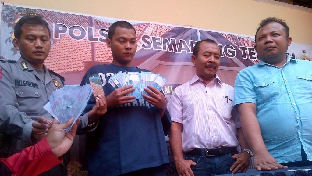 Beli HP Pakai Uang Palsu, Pria di Semarang Ditangkap Polisi