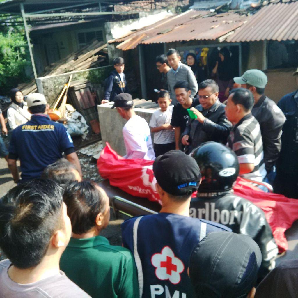 Terjun ke Sungai Cikapundung, Jasad Dadang Ditemukan Warga di Dayeuhkolot