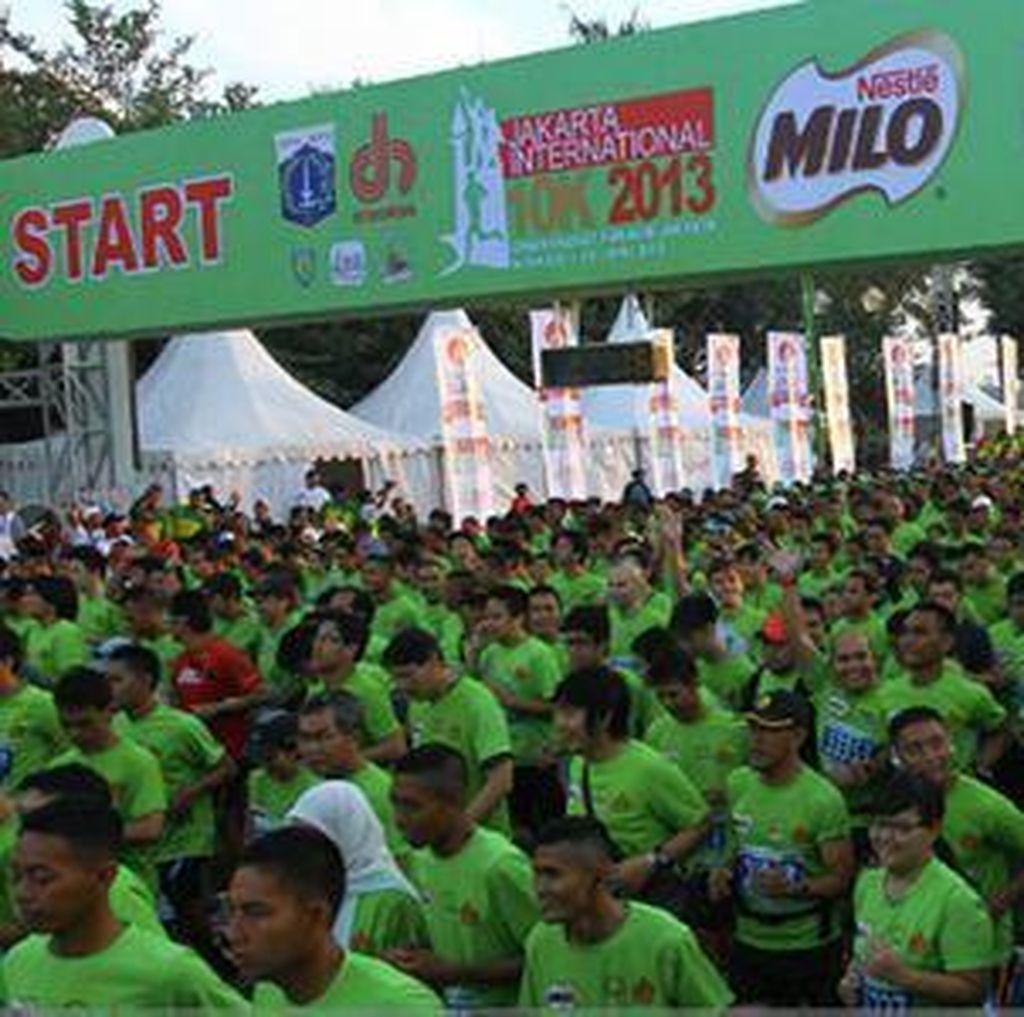 Panitia MILO Jakarta International 10K Siapkan 8 Kantong Parkir