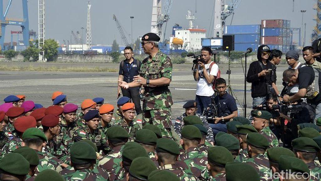 Hadapi Ancaman Perbatasan, TNI dan Tentara Malaysia Gelar Latihan Bersama