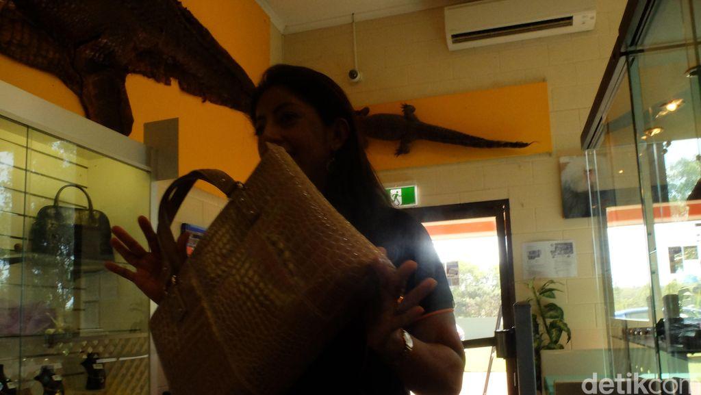 Pengrajin Indonesia Jadi Pilihan Pengusaha Australia untuk Olah Kulit Buaya