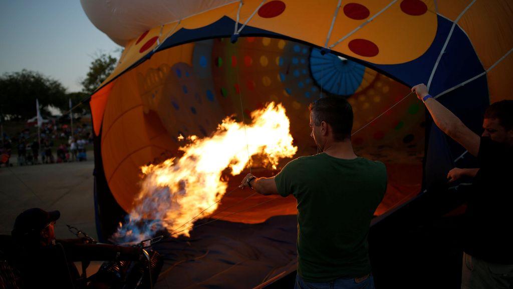 Balon Udara Terbakar di Texas, 16 Orang Diduga Tewas