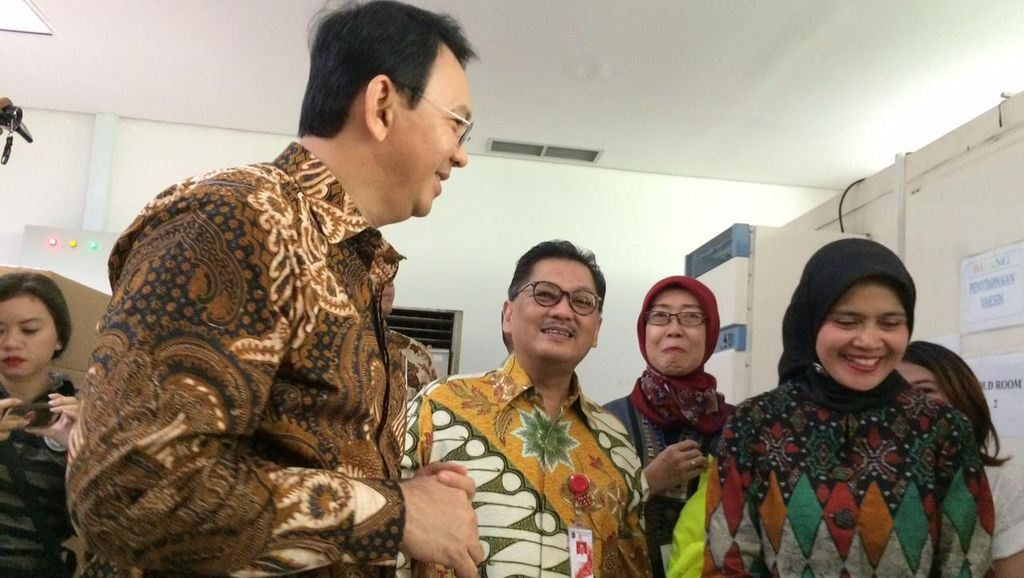 PDIP Jadikan Opsi Ketiga, Ahok: Meski Terakhir Kalau Jadi Menikah Bagus