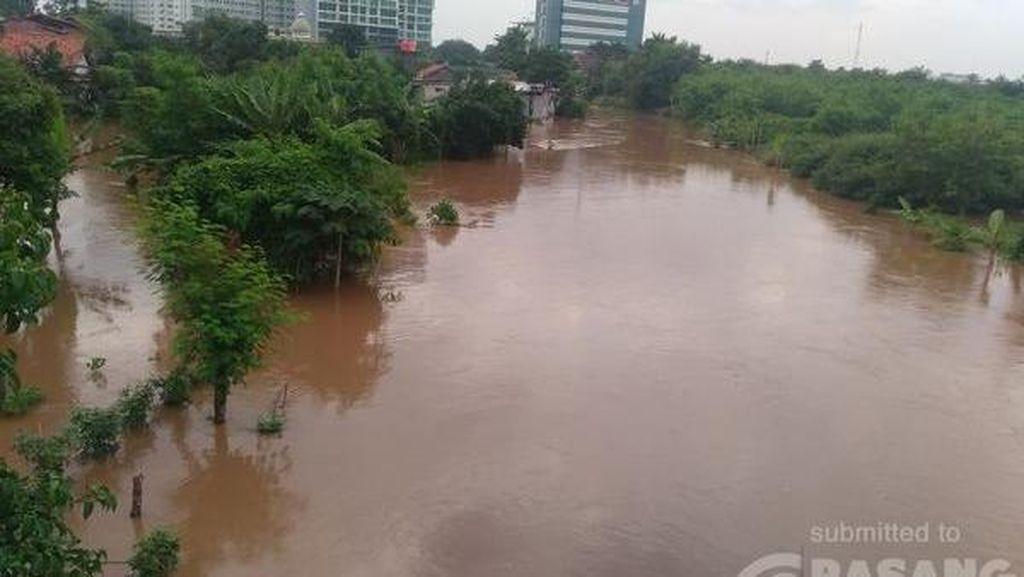 Permukiman Warga di Puri Kembangan Kebanjiran