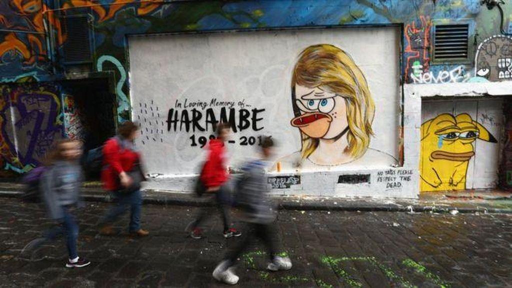 Usai Viral, Kini Mural RIP Taylor Swift Dirusak
