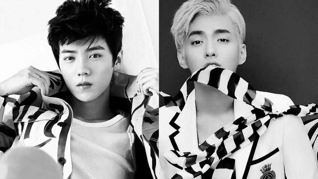 Damai dengan SM, Kris dan Luhan Tak Akan Gabung EXO Lagi