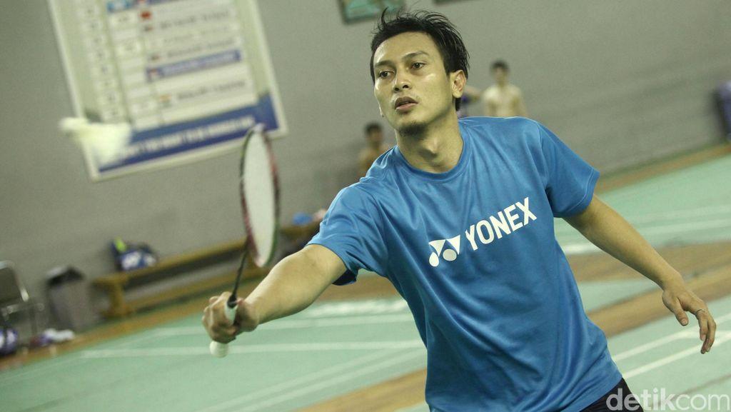 Pelatih Manfaatkan Beban untuk Dongkrak Motivasi Ahsan di Olimpiade