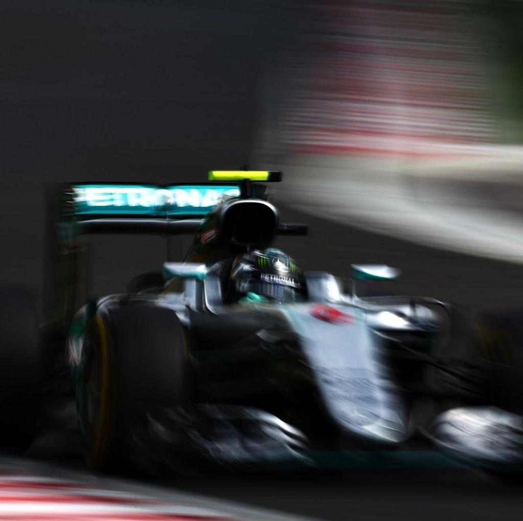 Gantian Rosberg Jadi yang Tercepat