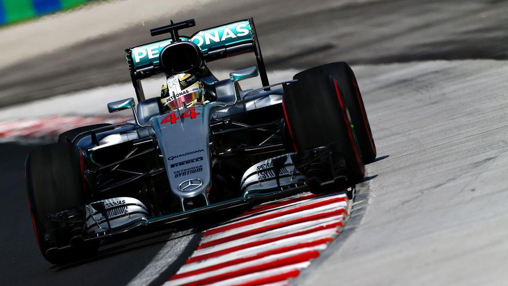 Crash, Hamilton Kritik Kerb Baru di Sirkuit Hungaroring